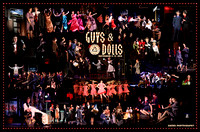 Guys and Dolls Poster - PRS Musical - Guys and Dolls - 2010-2011
