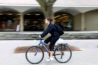 Panning a bicyclist in UCB