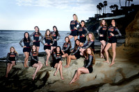 Mission Hills High School (MHHS) - Varsity Gold Dance Team - Carlsbad Beach - May 2017